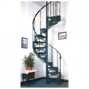 Escaleras caracol aluminio