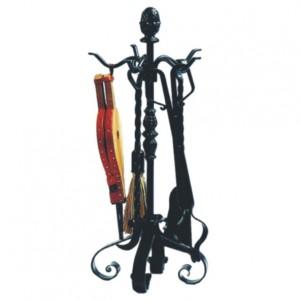 Complementos de forja para chimeneas y hornos