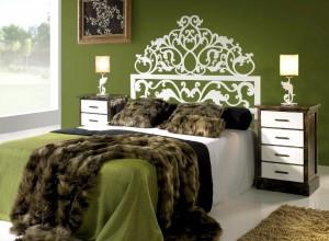 Cabeceros y camas de forja, latón y aluminio