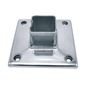 Accesorios cuadrados de acero inoxidable pulido espejo