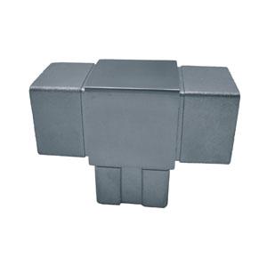 Accesorios cuadrados de acero inoxidable satinado esmerillado