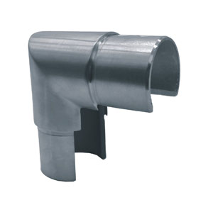 Accesorios para tubo abierto con forma de U en inox satinado