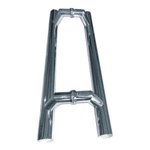 Tiradores y accesorios de puerta en acero inoxidable espejo