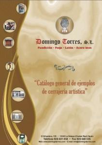 Catálogo ejemplos de cerrajería