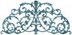 1-AC Adorno hierro fundido