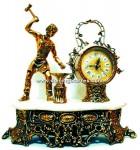 1-HRL Herrero con reloj bronce