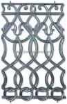 12-A Adorno fundición aluminio