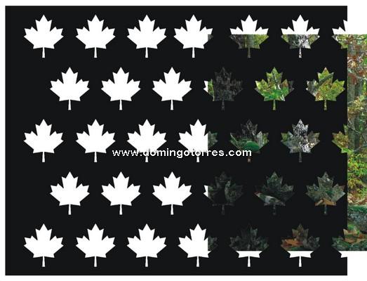 14-CHP Chapa hojas de vid