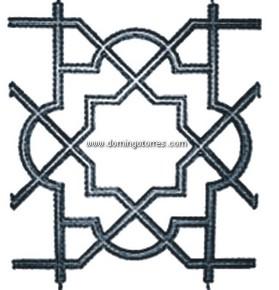 150-AC Adorno fundición