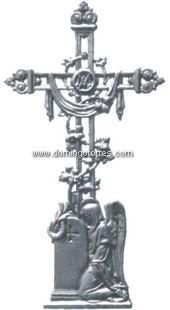 153-AC Cruz cementerio fundición
