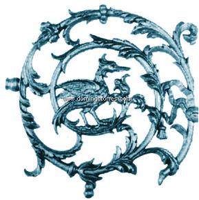 2-AC-S Adorno hierro fundido
