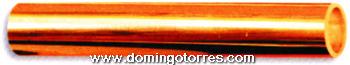 27-PVL T Tubo latón bronce