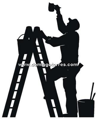 36-CHP Silueta chapa pintor
