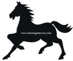 42-CHP Silueta chapa caballo