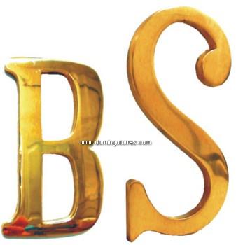 49-PVL Letras latón bronce
