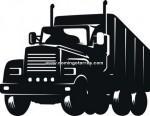 52-CHP Silueta chapa camión