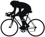 53-CHP Silueta chapa ciclista
