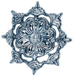 6-P Roseta aluminio