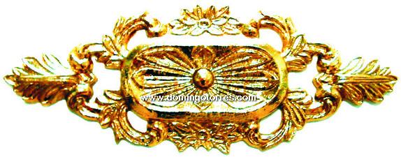 6-ROL Roseta latón bronce