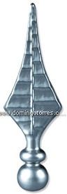 66-L Lanza fundición aluminio