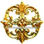 7-ROL Roseta latón bronce