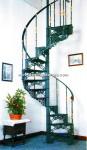 73-ES Escalera caracol aluminio