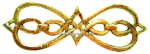 8-ROL Roseta latón bronce