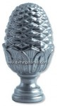 87-R Remate fundición aluminio
