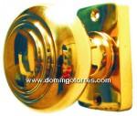 9-PVL Pomo giratorio latón bronce