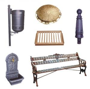 Productos piezas y ejemplos para la cerrajer a art stica for Ejemplos de mobiliario urbano