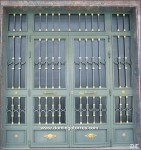 1001 Puerta forja y latón