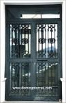 1020 Puerta hierro fundido y forja