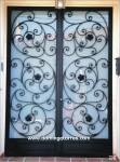1024-Puerta forja artística