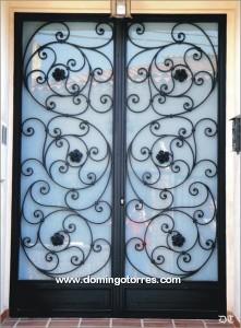 Adorno forja 13 2 af forja domingo torres s l - Puertas de hierro forjado para exteriores ...