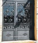 1025 Puerta hierro fundido y forja