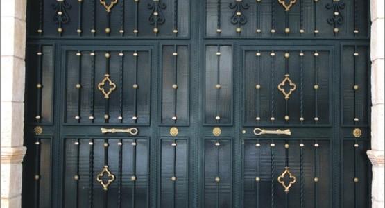 Ejemplos y fotos de puertas cancelas barandas rejas - Domingo torres forja ...
