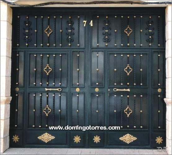 Puertas Para Baño Alajuela: hierro forjado fracc los banos puerta hierro forjado acero puertas