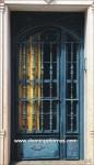1028 Puerta aluminio y forja