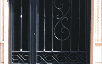 Puerta forja exterior es una etiqueta de forja y - Puertas forja exterior ...