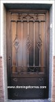 1035 Puerta hierro forjado