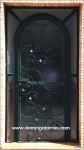 1040 Puerta forja artística