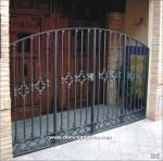1047 Puerta hierro fundido y forja