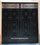 1056 Puerta forja y hierro fundido