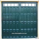1058 Puerta forja y cuarterones chapa