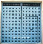 1060 Puerta forja y cuarterones chapa