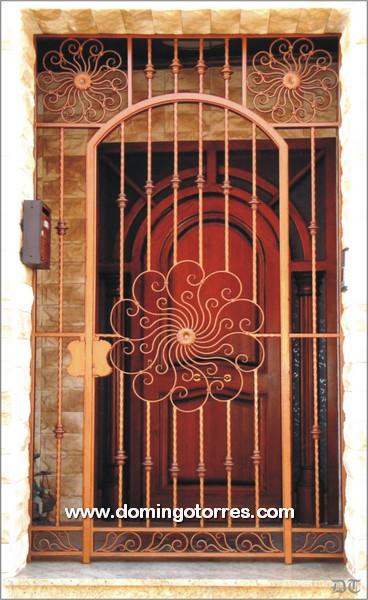 Foto y ejemplo de cancela de hierro para puerta de entrada - Forja domingo torres ...