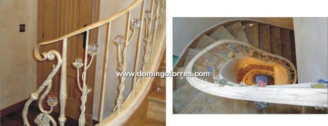 Barandilla forja y cristal es una etiqueta de forja y - Domingo torres forja ...