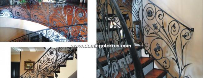Baranda hierro forjado es una etiqueta de forja y - Domingo torres forja ...