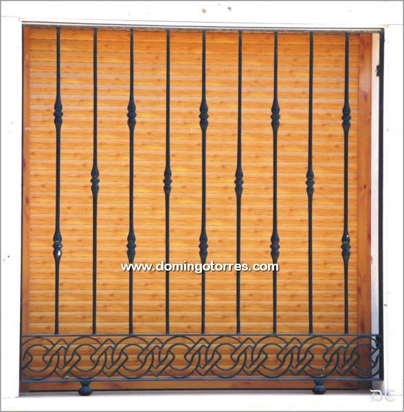 Verjas de hierro forjado rejas decorativas de hierro forjado rejas link metal decoracion - Rejas hierro forjado ...