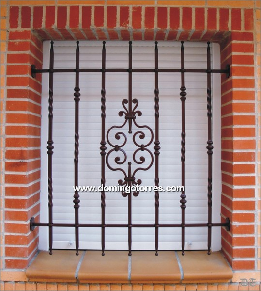 Ejemplo reja n 3031 forja domingo torres s l - Rejas hierro forjado ...